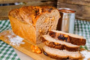 Baked bean bread